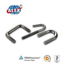 OEM Customized Stainless Steel, Alloy Steel, Steel, Brass U Bolt
