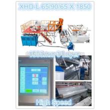 Линия для производства стретч-пленки 1850 мм LLDPE 20 Micron