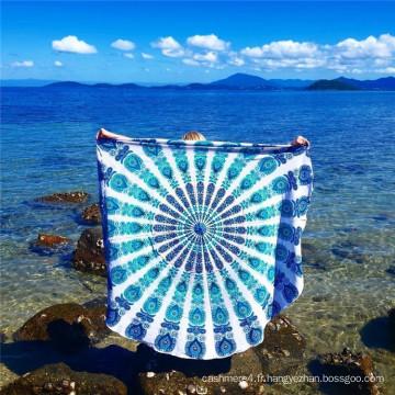 Écharpe et écharpe en mousseline de plage de plage d'excellente qualité les plus populaires
