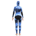 Seaskin Spearfishing Wetsuits with Blue Water Camo Patern