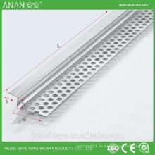 Dekorative Metall-Aluminium-Eckperle für Beton