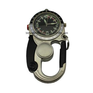 Ремень клип часы пояса Loop часы для мужчин