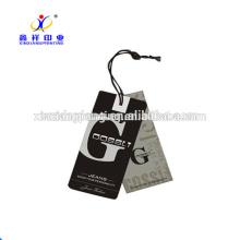 China wholesale folded hang tag
