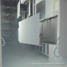 Cabina de recubrimiento en polvo Spl con sistema de reciclaje