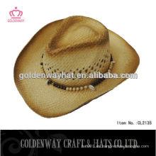 Sombreros de paja baratos de vaquero de China