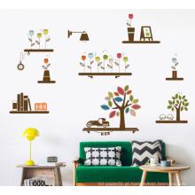 Desenhos personalizados adesivos de parede decoração da parede de grande porte barato ready made adesivo