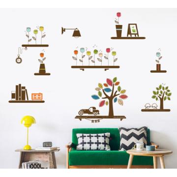 Индивидуальный дизайн стикер на стену большой размер декор для стен дешевый готовый стикер