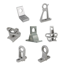 Factory outlet electrical wire fittings suspension anchor clamp aluminum alloy pole brackets