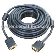 100FT 15 PIN AZUL SVGA VGA ADAPTADOR Monitor M / M macho para macho vga cabo CORD PARA PC TV