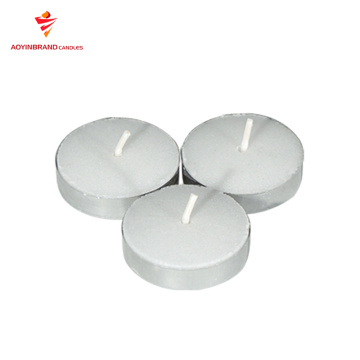 Candele decorative in alluminio a lume di candela decorative all'ingrosso