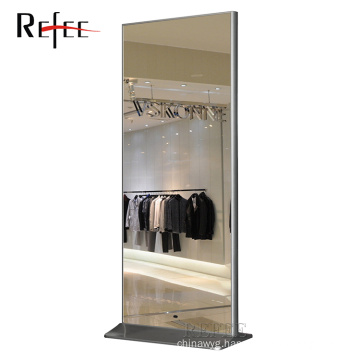 Magic mirror LCD display with motion sensor and remote control