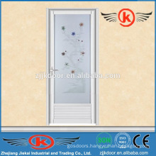 JK-AW9014aluminum alloy frame screen door design with glass