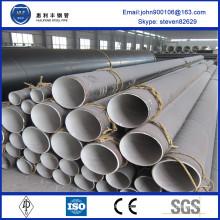 ASTM Standard three pe external coated corrosive steel pipe with big diameter