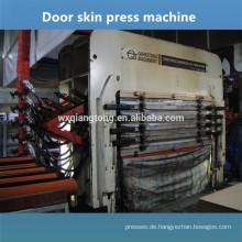 5 Schichten geformte Melamin-Tür Haut heiße Pressmaschine