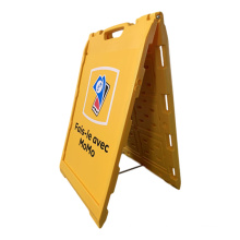 water injection outdoor poster a board Stand A Frame Double Sided Pavement Sign