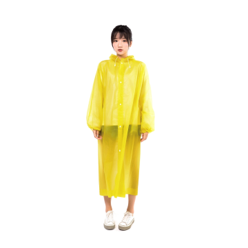 Impermeable transparente largo impermeable para mujer