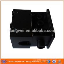OEM black coating aluminum die castingpart