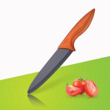 Cabo de cobre faca de cerâmica 8 polegadas Chef Faca