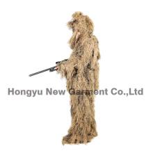 Военный костюм камуфляжа Ghillie костюм Ghilly костюм сухой полевой травы (HY-C003)