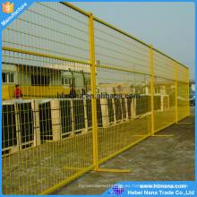Paneles de valla temporales de venta caliente de Canadá y EE. UU. / Cerca de metal