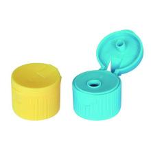 Moule jaune en plastique de chapeau de secousse