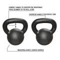 Hotsale Elite Premium Qualität Glossy Workout Gewichte E-Coating Kettlebell
