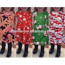 Hot Best Selling Alta Qualidade Natal Little Girl Costume Dress Girls Atacado Boutique Roupas
