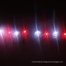 sk9822 apa102 18mm digital mini à prova d 'água levou luzes de pixel para artesanato