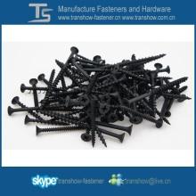 C1022 acier Hardend noir phosphaté pas cher cloison sèche vis