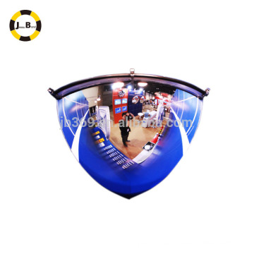 cuarto de cúpula espejo de 90 ver grado