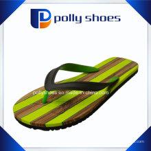 Зеленый мужской ремень плоский флип-флоп сандалии новые