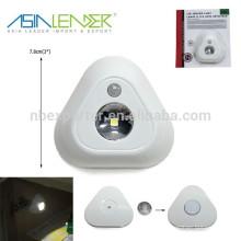 3 * Fuente de alimentación AAA SMD ABS LED Sensores de movimiento para luces LED