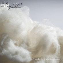 Fibre de laine de bonne qualité pour le type de fibre de laine épilée entre-temps 18.5mic