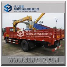 Dongfeng Tianjin 4X2 Truck Crane 4ton