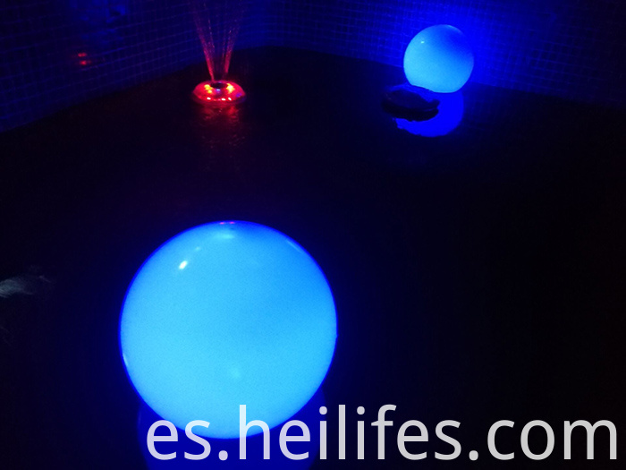 under water led ball light