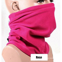 Major Pink Rose Embroidery Polyester Fleece Scarves Factory