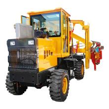 Hydraulic pile driver piling machine hammer guardrail driver