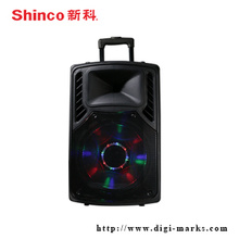 12 15 Inch Promotional Amplifier Stereo Wireless Bluetooth Speaker