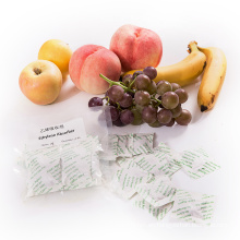 Paquetes y filtros absorbentes de etileno aumentan la vida útil de frutas, verduras y flores