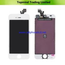 Pantalla LCD para iPhone 5 con pantalla táctil digitalizador blanco