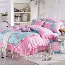 Jogos de cama de alta qualidade para menina, boa venda
