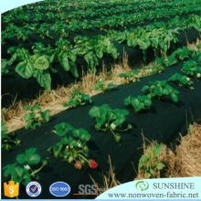 Telas não tecidas resistentes UV dos PP da agricultura