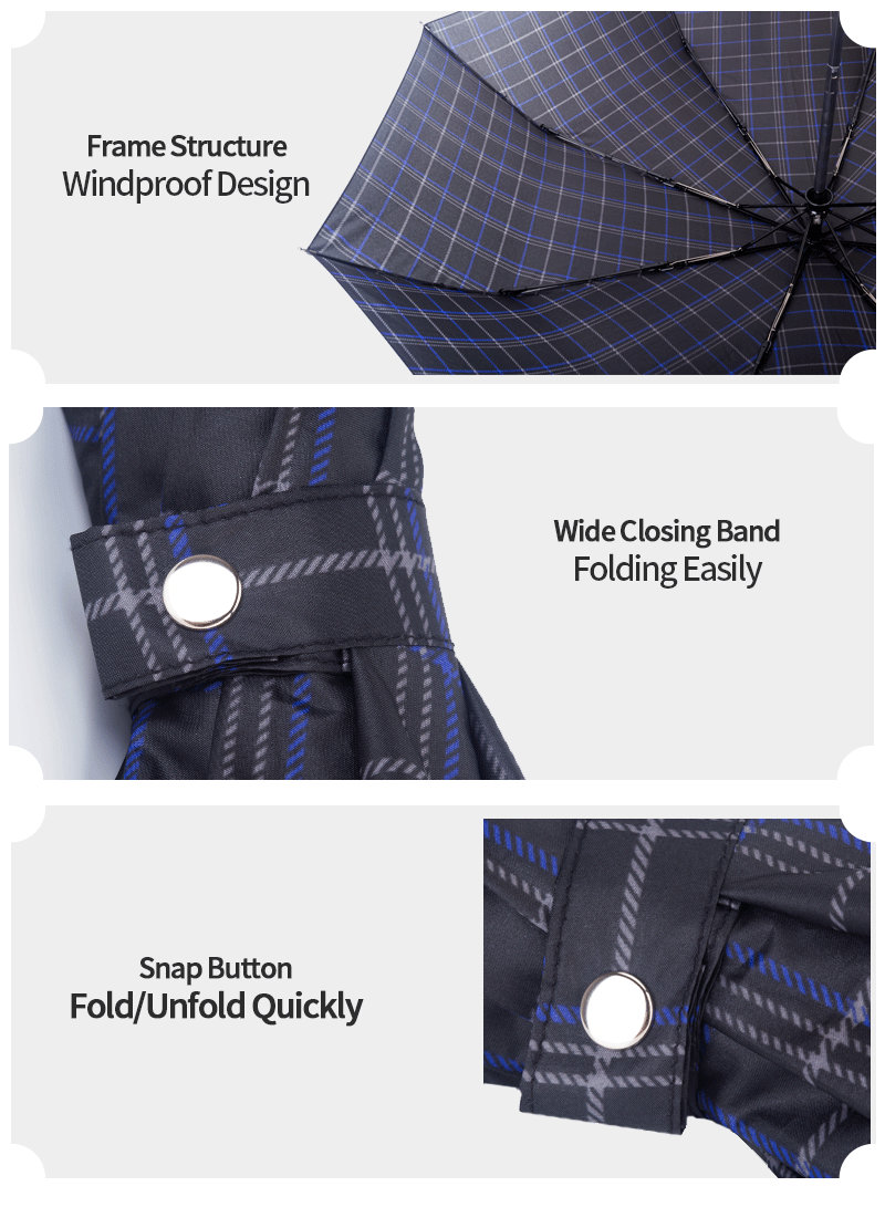 executive folding umbrella