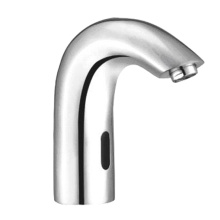 Stylish Deck Mounted Infra Red Sensor Automatic Spout Tap for Kitchen Hotel