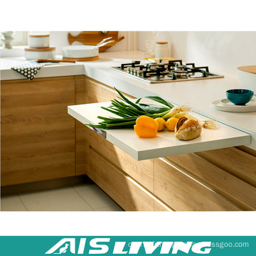 Meubles modernes de meubles de cuisine de mélamine ou de stratifié (AIS-K667)