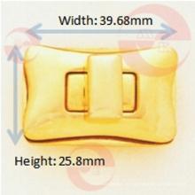 Arc-Rectangle Turn Lock für die Verwendung mit Handtaschen