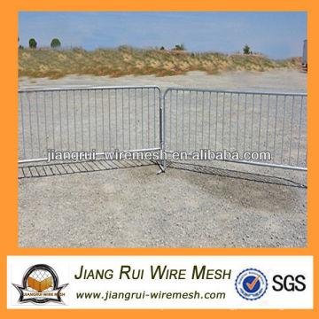 custom crowd control barrier