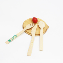 100% Natural Bamboo Disposable Dinner Utensils Eco-friendly Bamboo Forks