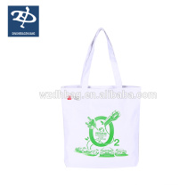 100% 8oz Natural Cotton Canvas Drawstring Bag With Printing Flower
