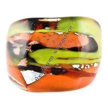 Gets.com lampwork letra r anillos de dedo